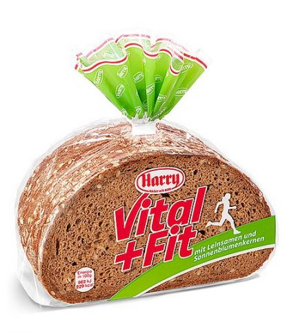 Harry Brot Vital+ Fit 500 g geschnitten