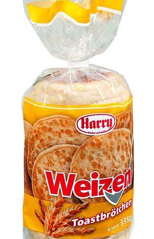 Harry Brot Weizen Toastbrötchen 335g