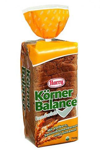 Harry Brot Körner Balance Sandwich 750g geschnitten