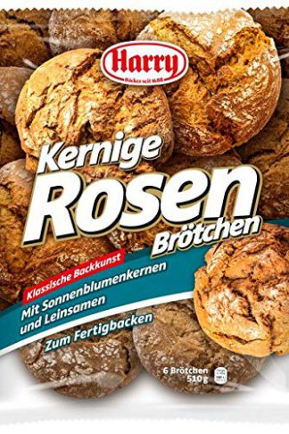 Harry Brot Kernige Rosen Brötchen 6 Stück a 85g / 510g