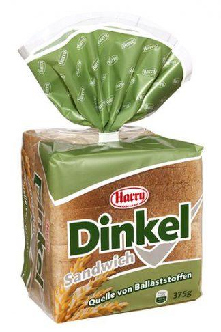 Harry Dinkel Sandwich, 375 g geschnitten