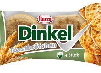 Harry Toastbrötchen Dinkel, 4 Stück, 225 g